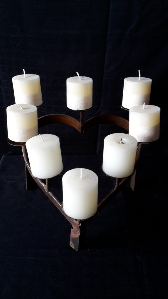 Rustic Table Candelabra